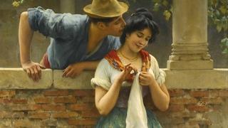 Edward Elgar - Salut d'amour / Художник  Eugene de Blaas