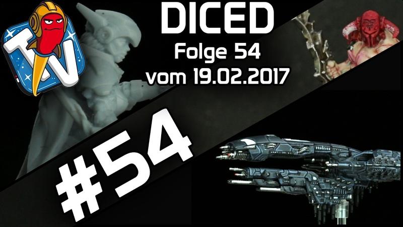 DICED Die Tabletopshow auf Rocketbeans TV 54 Khorne Slaughterpriest Dropfleet Commander