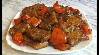 То, Что Надо На Обед / Свинина в Кисло-Сладком Соусе / Это Невероятно Вкусно!!! / Meat in Sauce