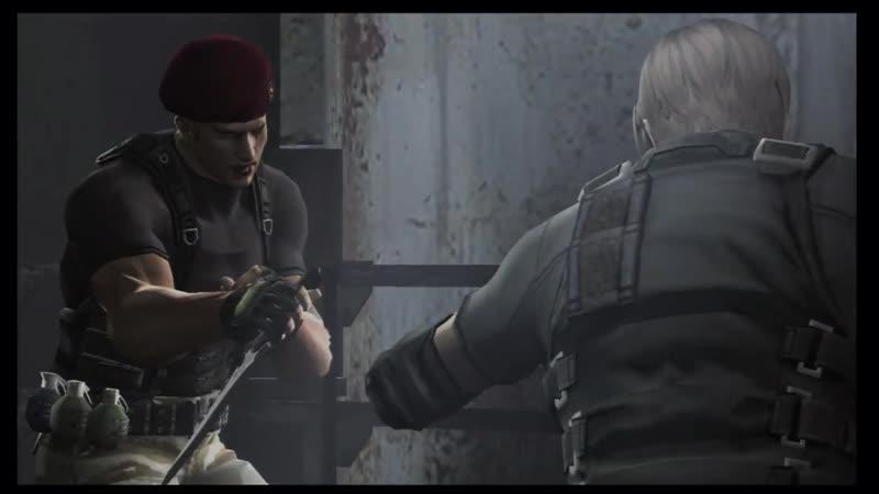 Resident Evil 4 (2005) | Леон против Краузера