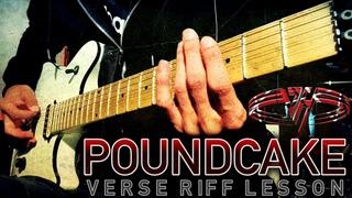 Poundcake | Van Halen | Verse Riff Lesson