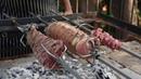 Panceta de cerdo rostizada