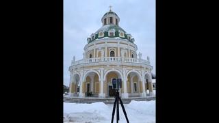 Лазерное сканирование храма