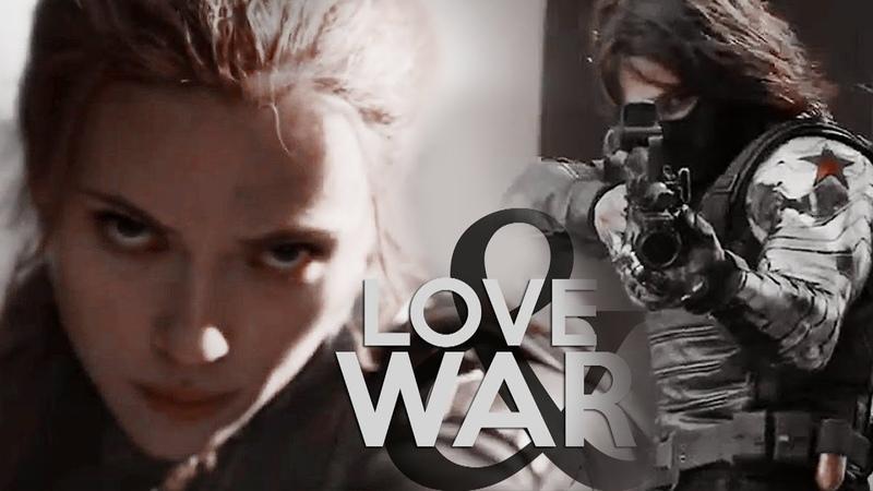 Bucky Natasha Love and War
