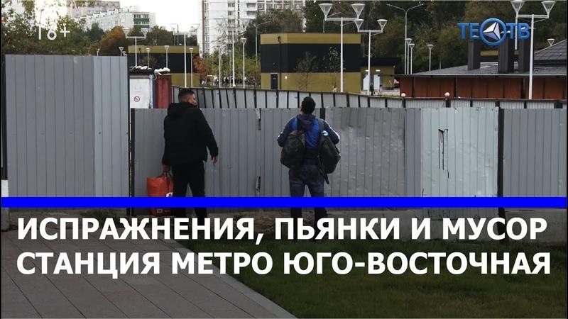 Мигранты загадили метро Юго Восточная ТЕО ТВ 16