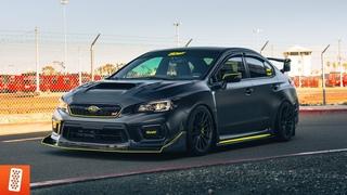 Building a Subaru WRX STI in 14 minutes! [COMPLETE TRANSFORMATION]