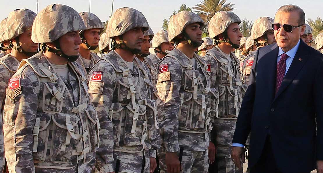 Эрдоган и армия
