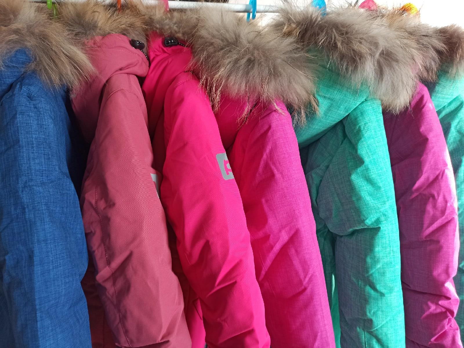 купить зимнюю одежду на ребенка