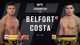VBL 56 Middleweight Vitor Belfort vs Paulo Costa