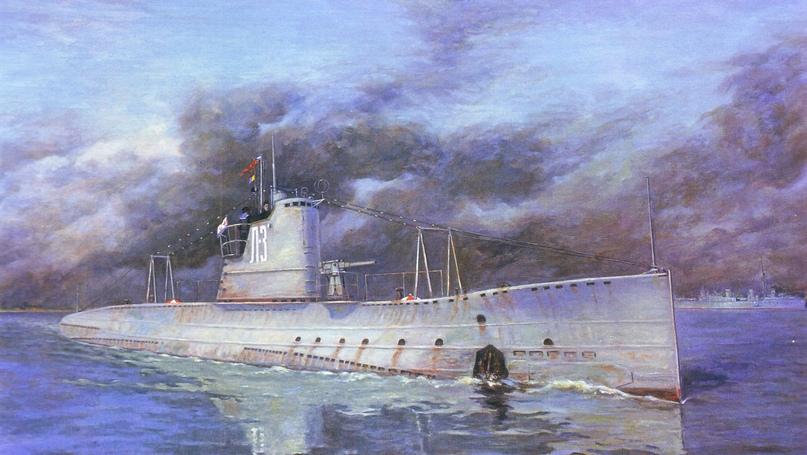 Гвардейская подводная лодка – минный заградитель «Л-3»