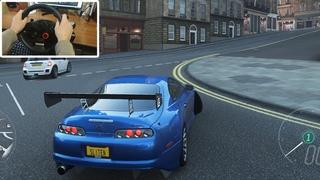 TOYOTA SUPRA RZ 1100hp 2JZ-GTE TOP TUNING SUPER DRIFT / FORZA HORIZON 4 ! logitech g29 gameplay