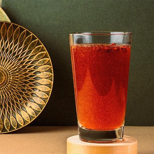 Чай черный ягоды-мята