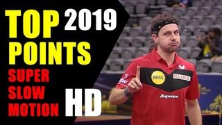 🏓 Best table tennis points 2019 ⭐️ Super slow motion HD | Mejores puntos de tenis de mesa 2019.